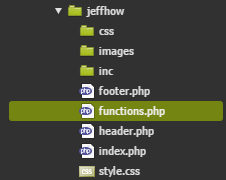 Functions.php in directory